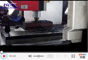 重型龙门加工中心强力切削视频